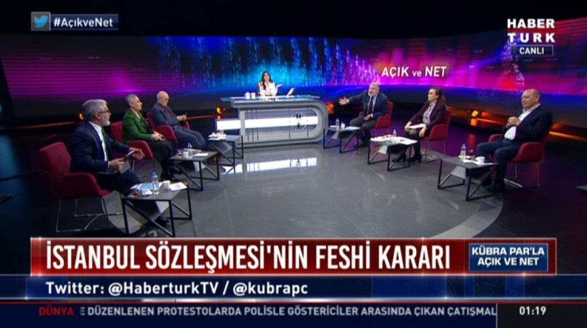 Hadi Özışık ile Bahadır Erdem in yüksek sesli tartışması #1