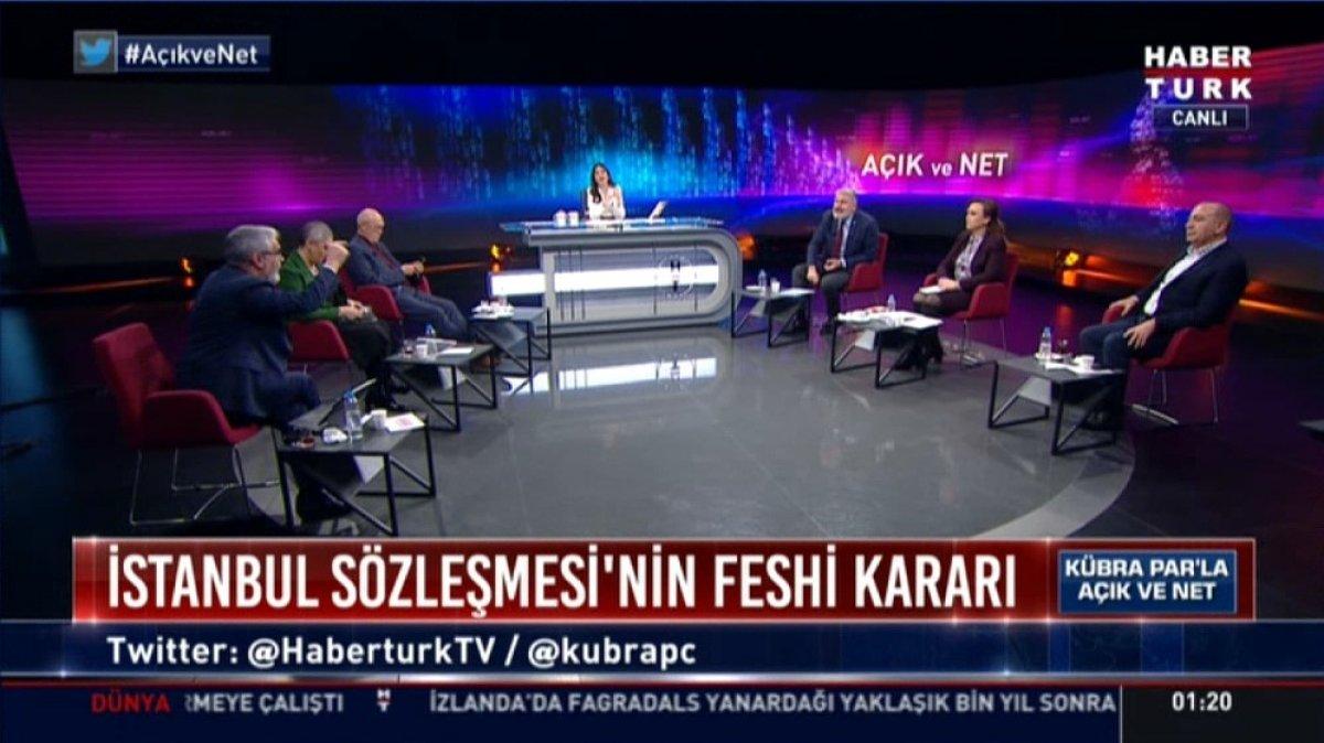 Hadi Özışık ile Bahadır Erdem in yüksek sesli tartışması #2