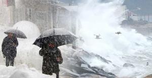 Meteoroloji Marmara İçin Kuvvetli Fırtına Uyarısı Yaptı