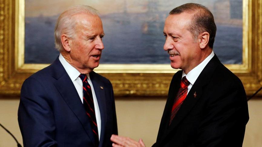 Erdoğan'dan Biden'a tebrik mesajı